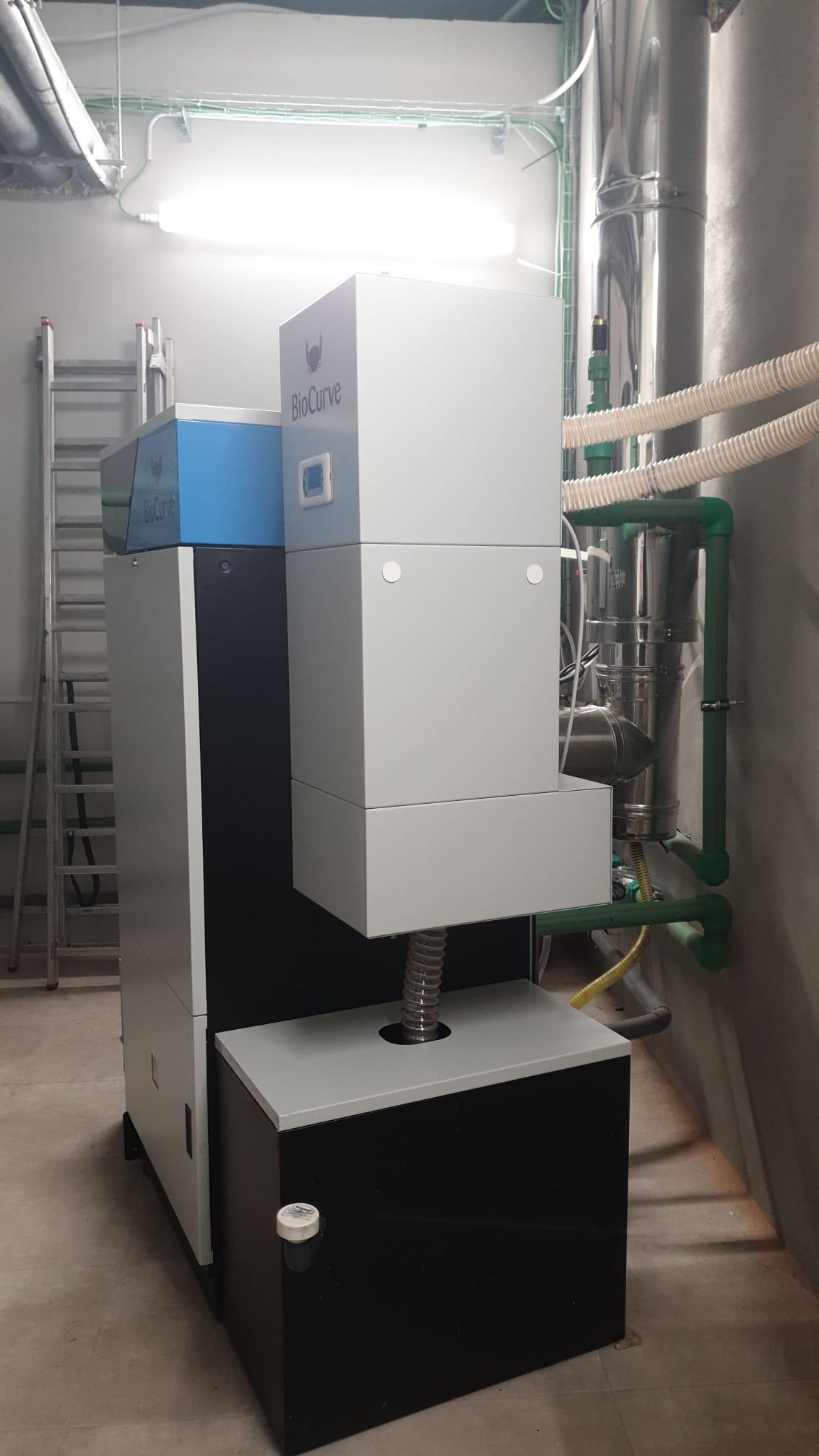 Caldera condensación 70kw