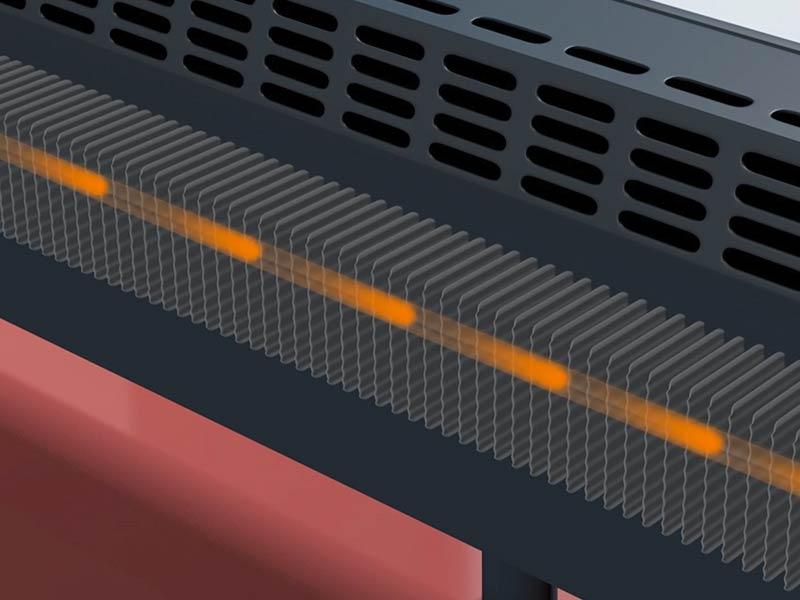 barra calefactora