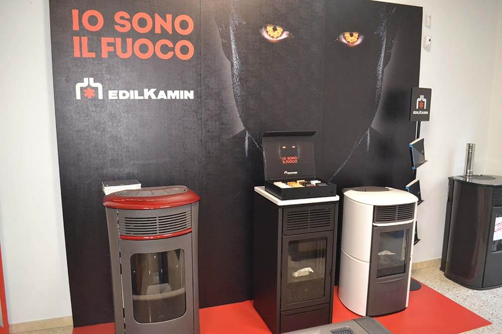 exposición estufas AC Ibérica
